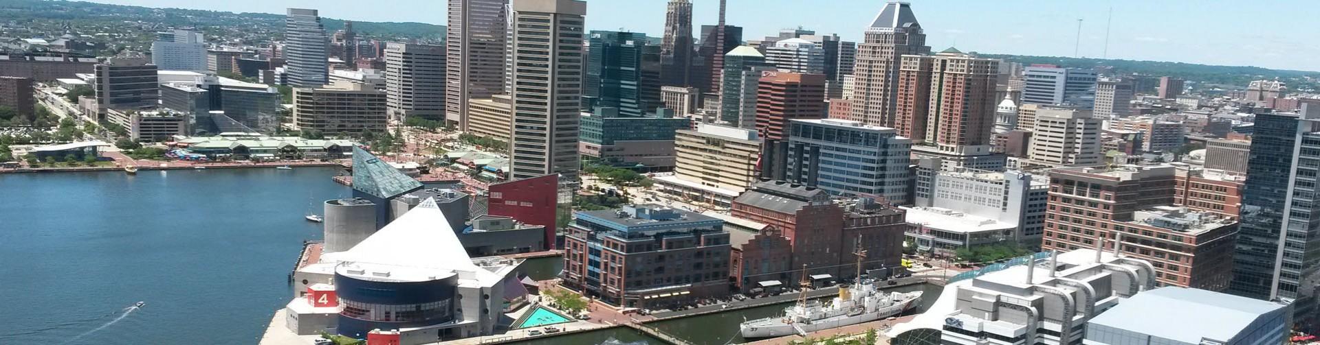 Baltimore Inner Harbor For Desktop