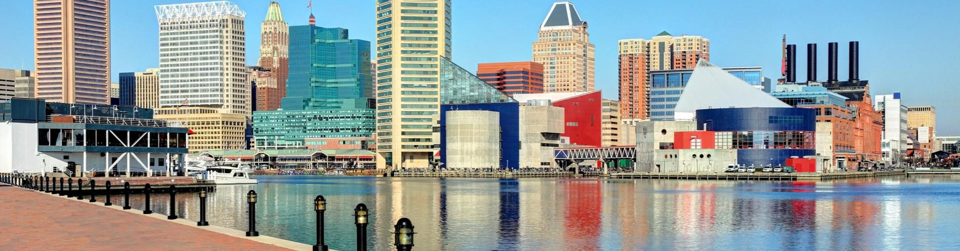 Downtown Baltimore Inner Harbor For Desktop