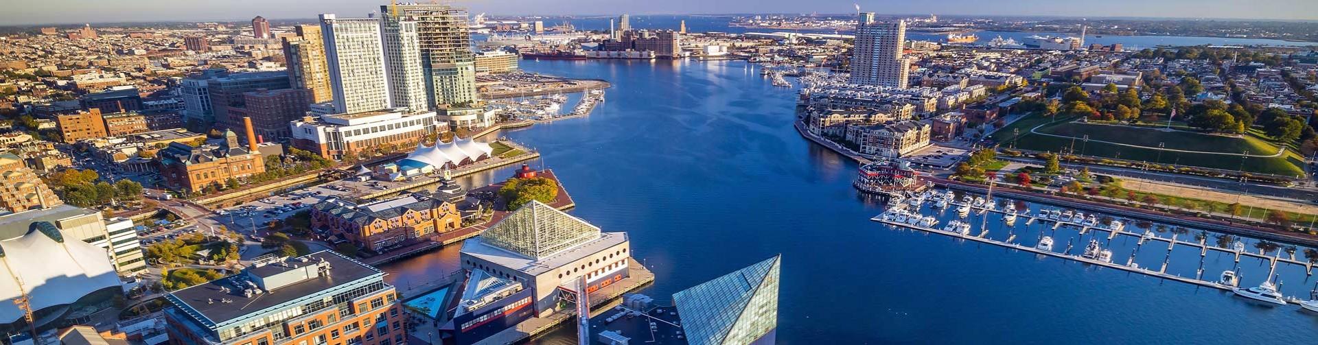 Downtown Baltimore Inner Harbor For Desktop